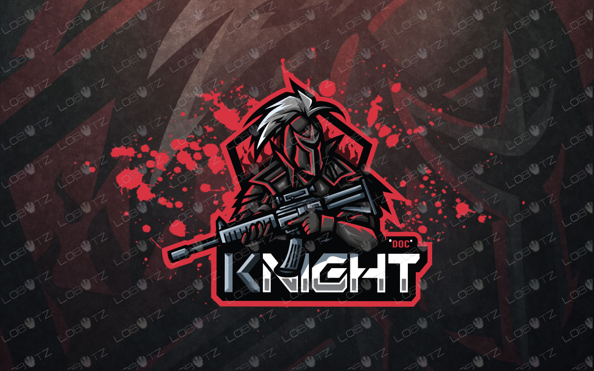 knight esports logo for sale premade knight mascot logo
