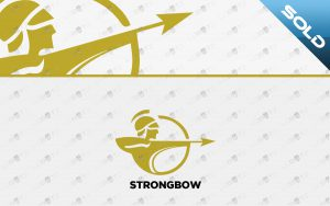 archer logo for sale premade bow logo