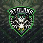 Amazing Owl eSports Logo For Sale | Owl Mascot Logo