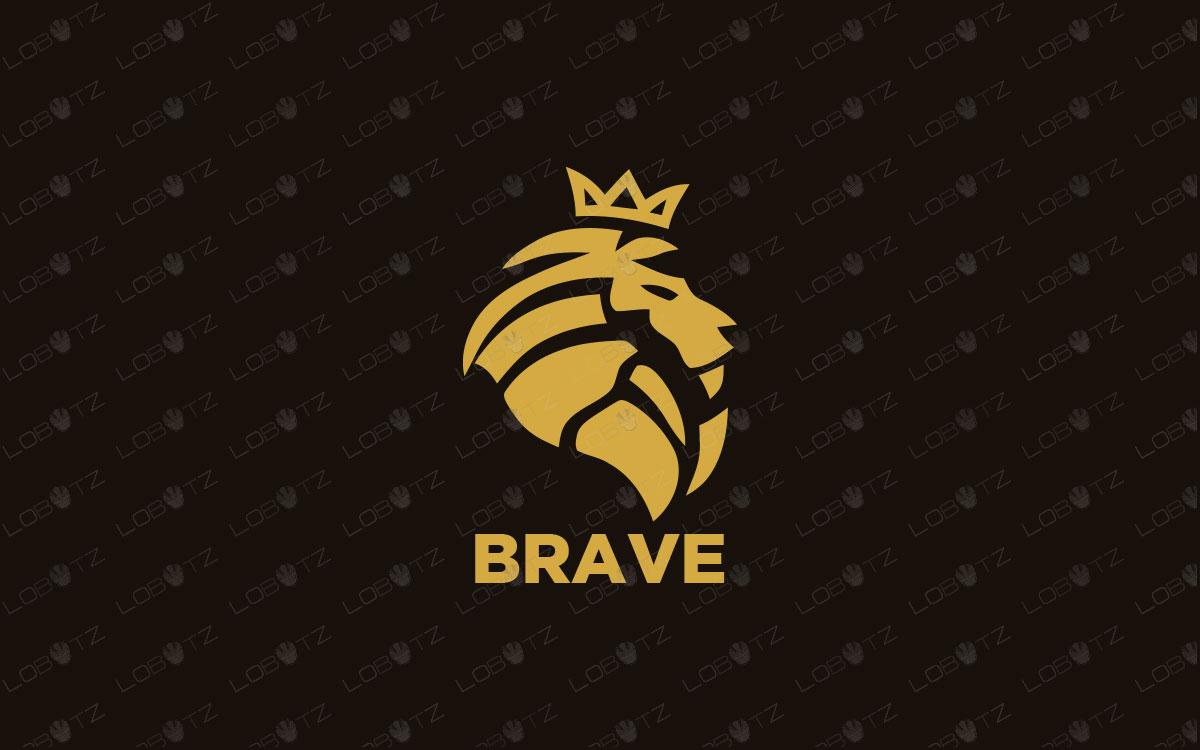 lion logo for sale premade logos premium logo