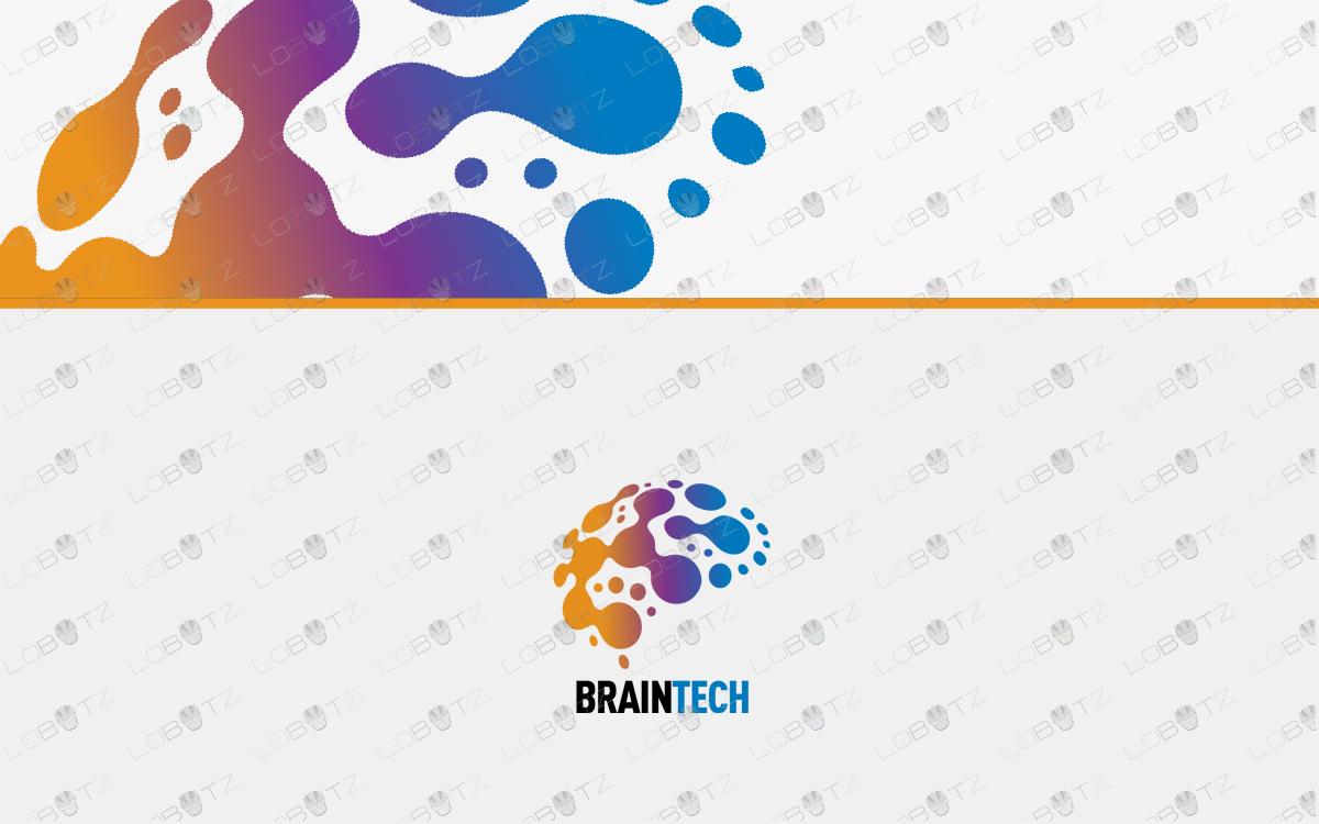 brain logo for sale business logo