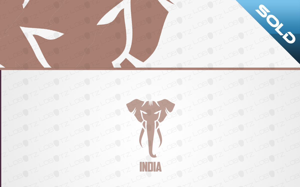 indian elephant logo for sale