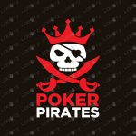 Pirate Poker Logo | Modern Pirate Logo For Sale