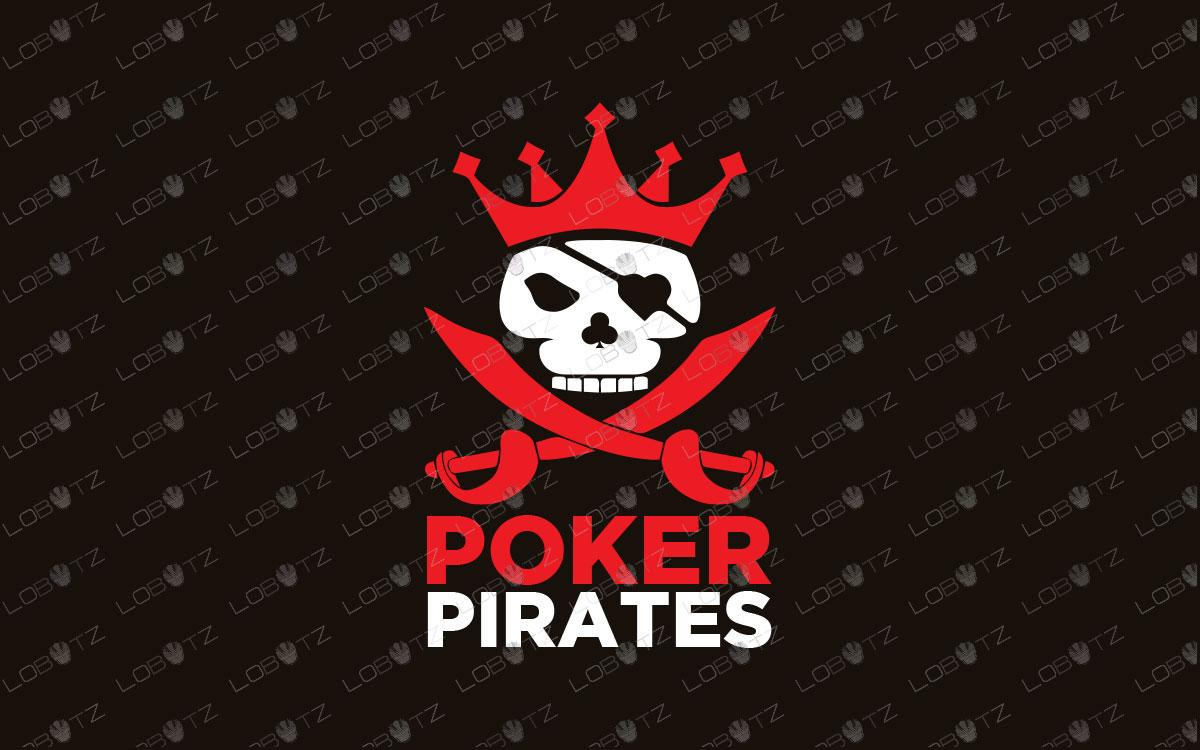 pirate poker logo for sale pirate logo