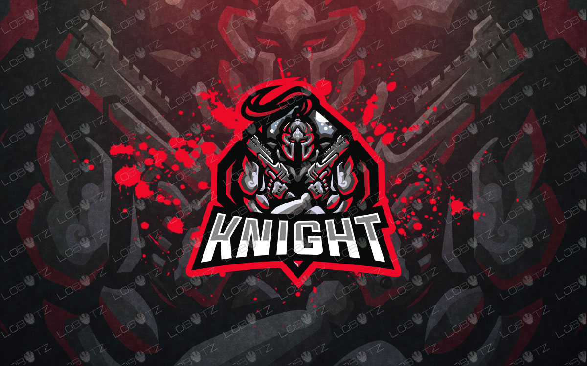 knight mascot logo knight esports logo