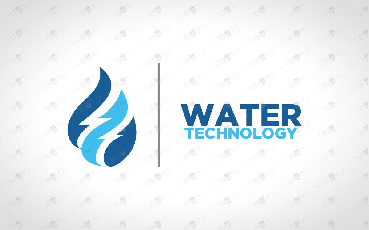 Water Logo For Sale Premium Business Logo