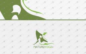premium yoga logo for sale premade