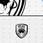 Strong & Powerful Premade Atlas Logo For Sale
