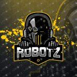 Robot Mascot Logo | Robot Gaming Logo | Robot eSports Logo