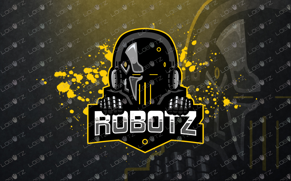 robot mascotlogo robot esports logo robot gaming logo