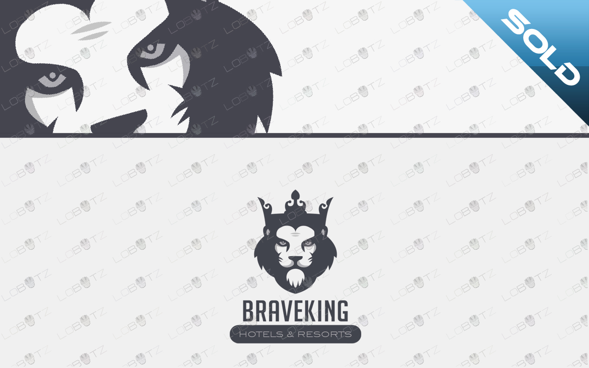 royal lion logo for sale