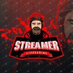 Awesome Streamer Mascot Logo | Streamer eSports Logo