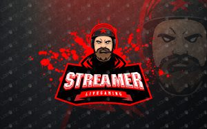 premade Streamer Mascot Logo Streamer eSports Logo