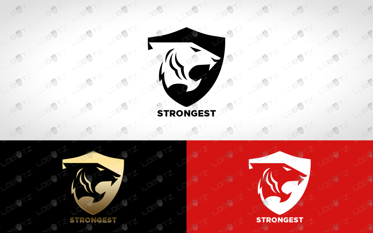 premade tiger logo for sale tiger shield