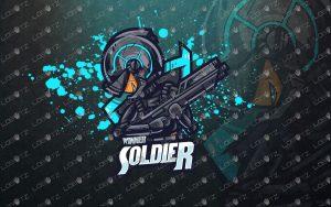 soldier mascot logo soldier esports logo