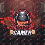 Awesome Gamer eSports Logo | Gamer Mascot Logo