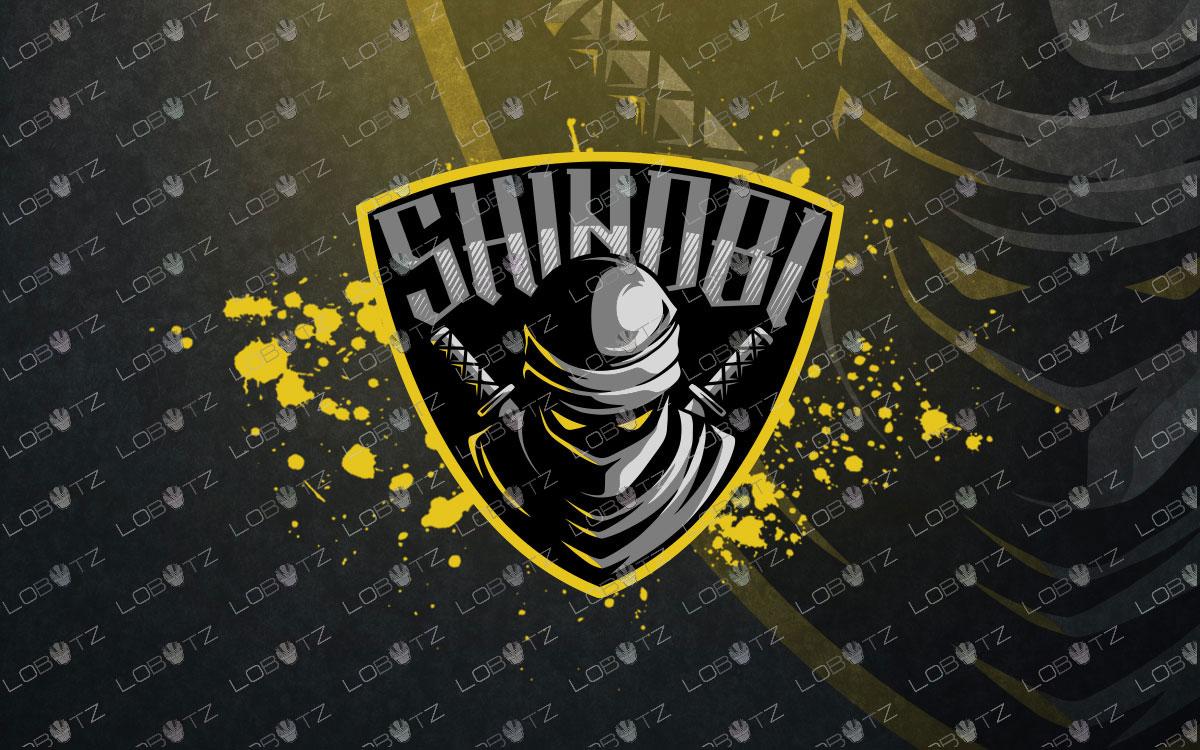 shinobi mascot logo for sale shinobi esports logo premade
