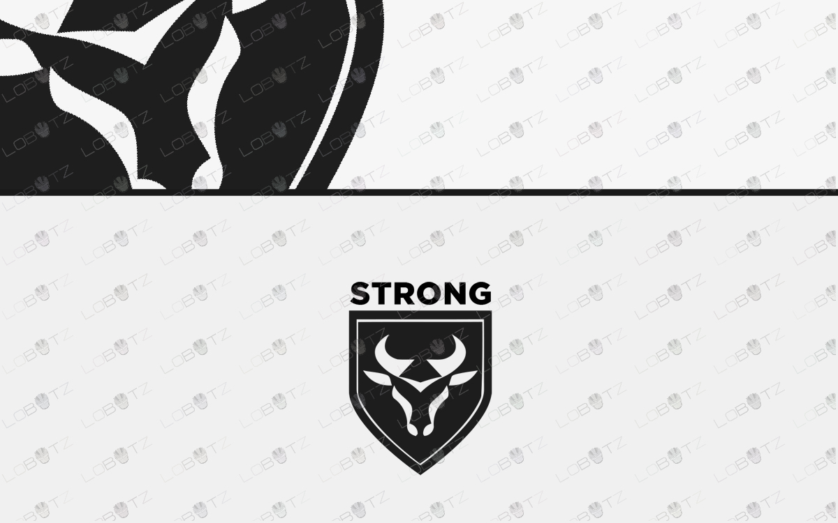 bull head logo for sale bull logo