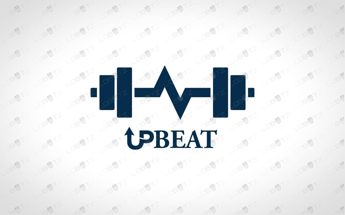 fitness logo for sale dumbbell logo