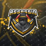Assassin eSports Logo For Sale | Assassin Mascot Logo