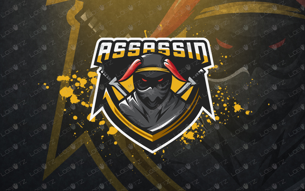 assassin esports logo for sale assassin mascot logo for sale