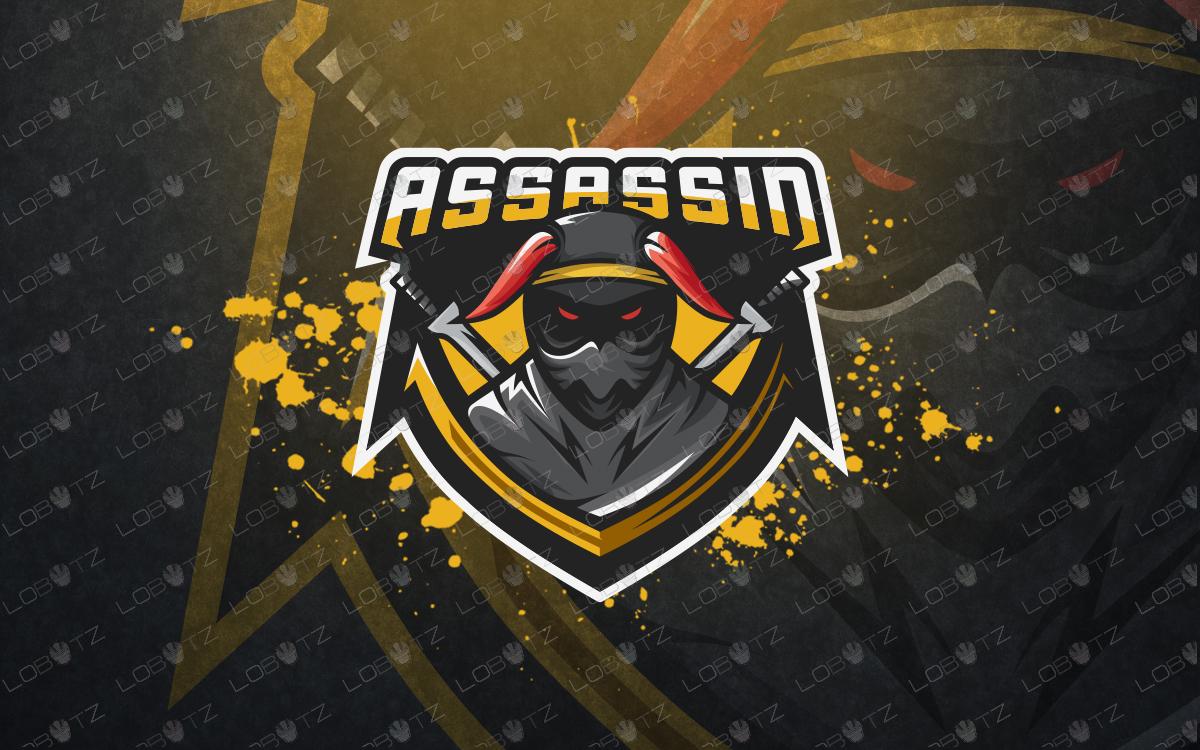assassin esports logo for sale assassin mascot logo for sale
