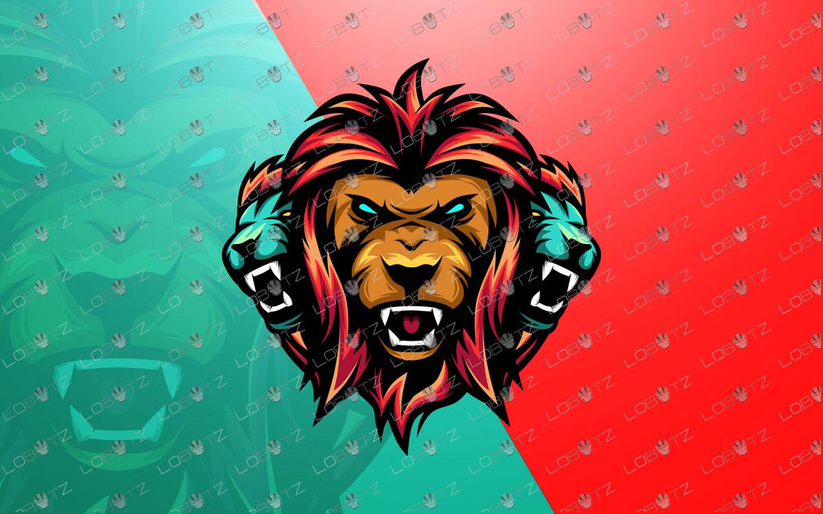 lions mascot logo lions esports logo premade logo