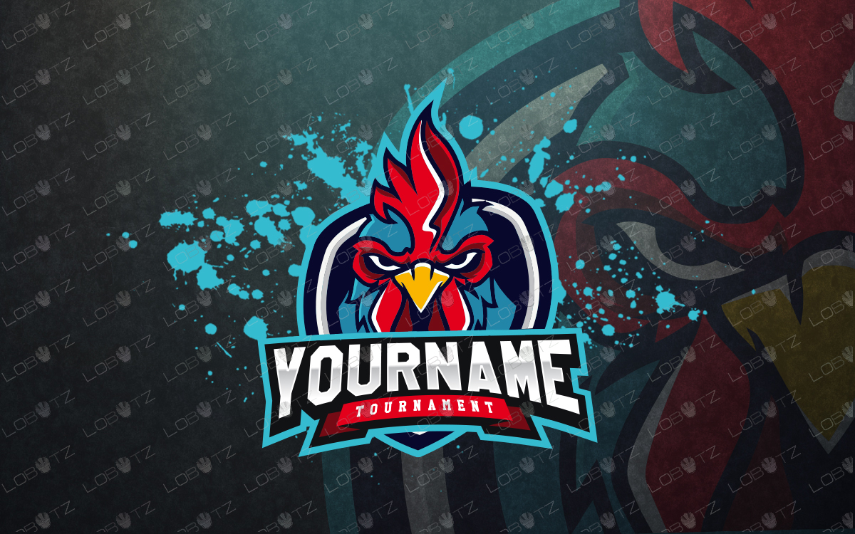 rooster mascot logo rooster esports logo premade logos