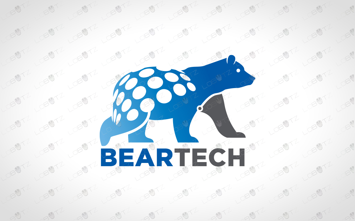 Bear logo for sale polar bear logo for business