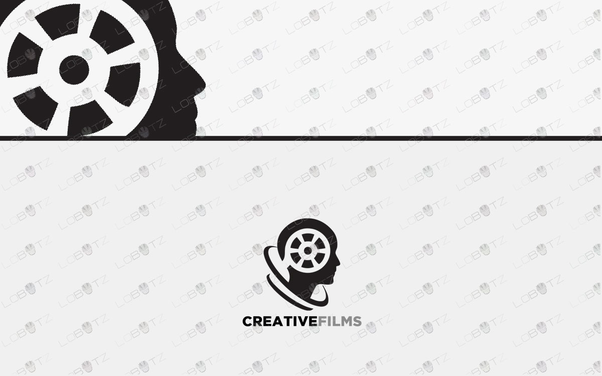 films logo for sale movies logo film logo media logo