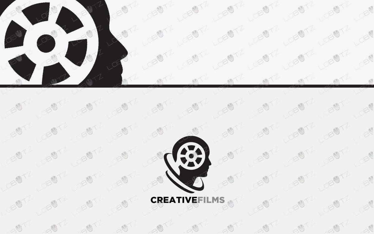 films logo for sale movies logo film logo media logo