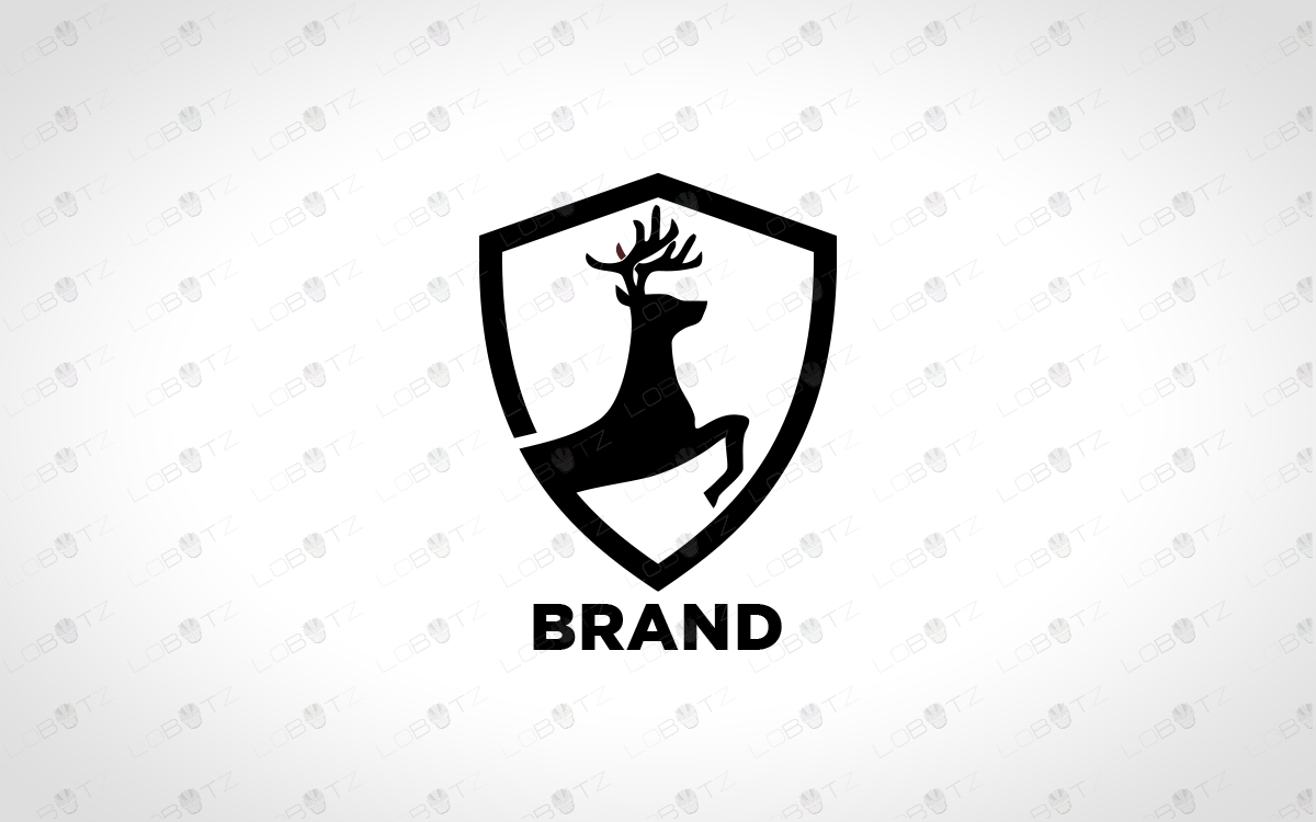 premium logo deer logo for sale deer crest logo