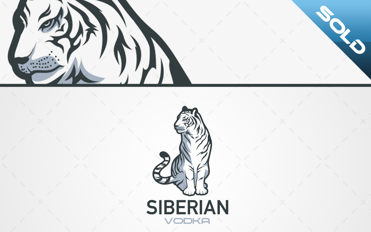 Siberian tiger logo for sale