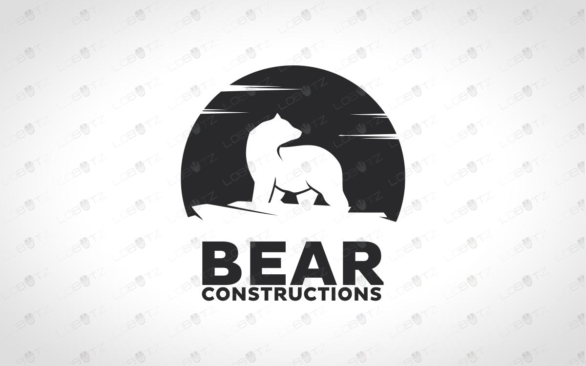 Bear logo for sale polar bear logo
