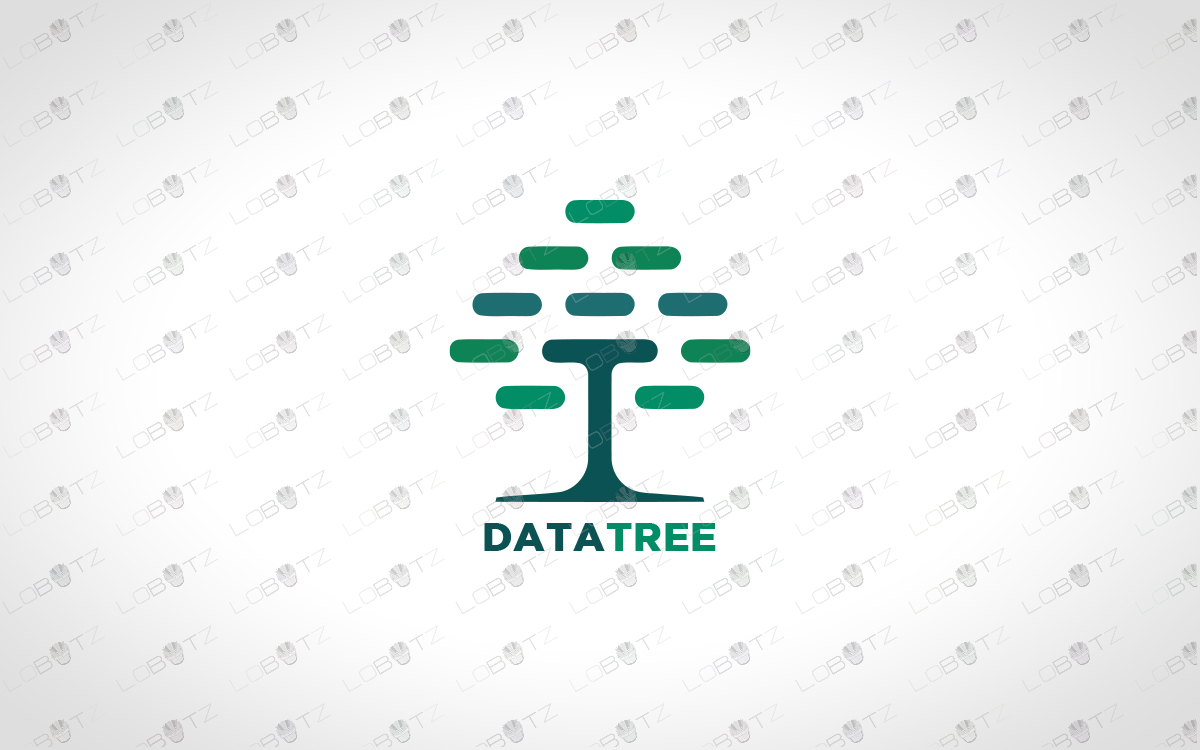 Digital Tree Logo For Business | Business Logo For Sale