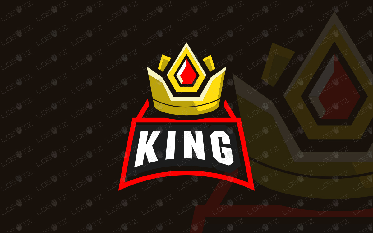 crown mascot logo crown esports logo