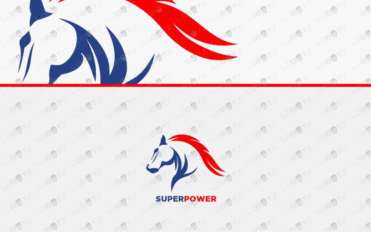 horse logo for sale premade horse logo