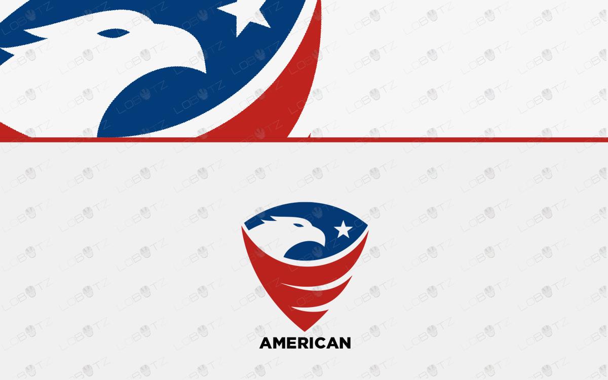 american eagle logo eagle crest logo