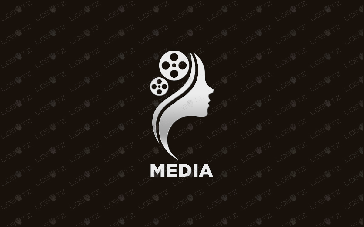 premade media logo for sale movies logo