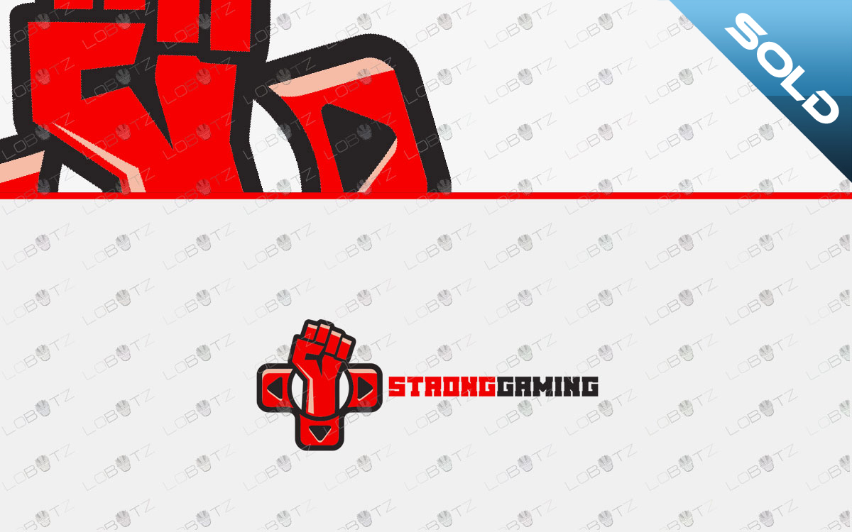 fist gaming logo for sale