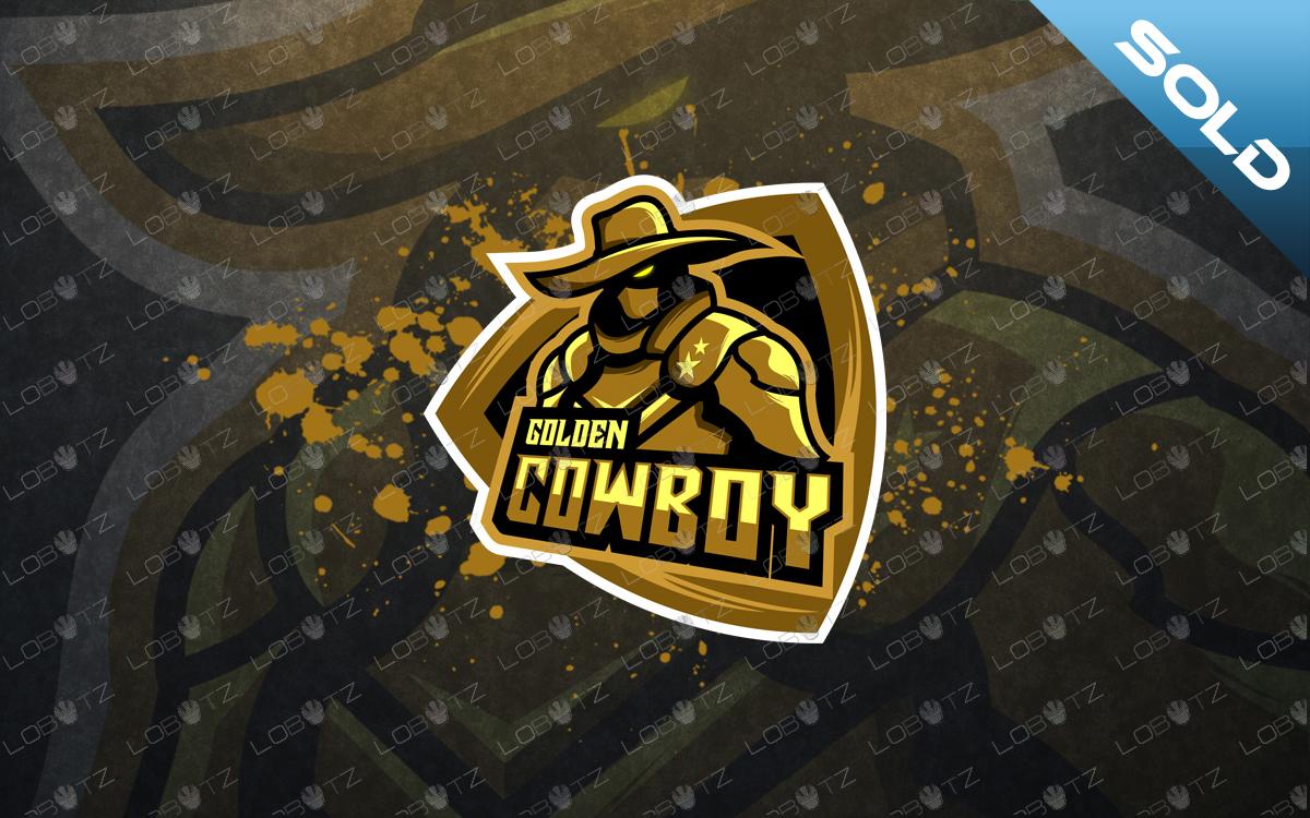 cowboy mascot logo cowboy esports logo