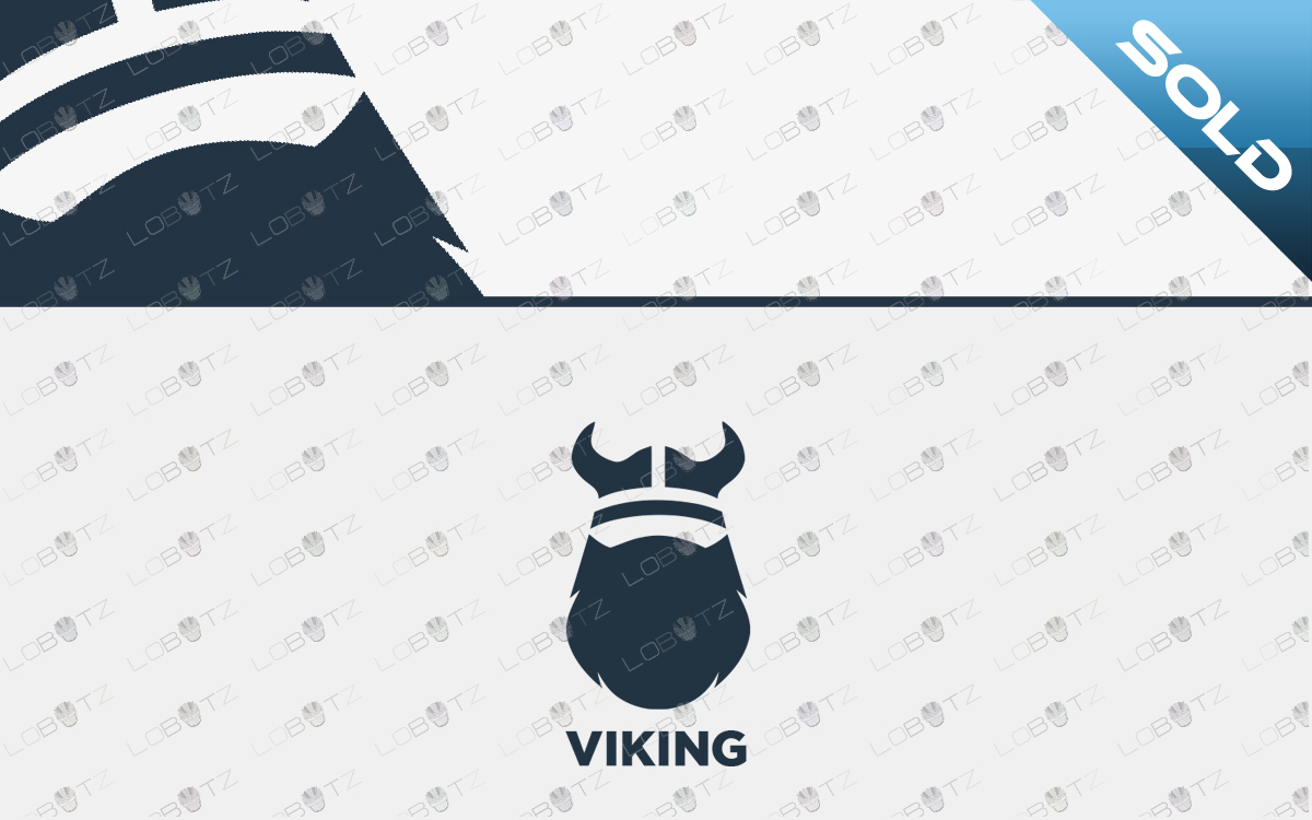 Premium Viking Logo For Sale