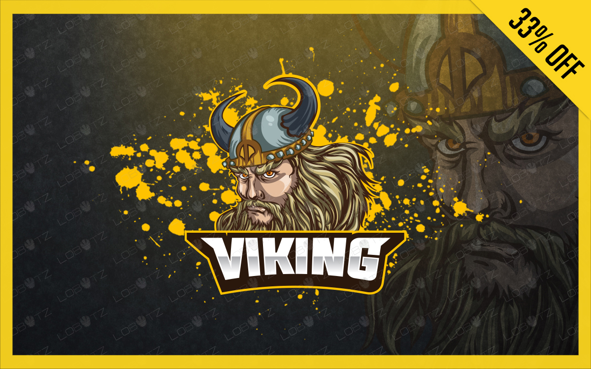 viking mascot logo for sale viking esports logo