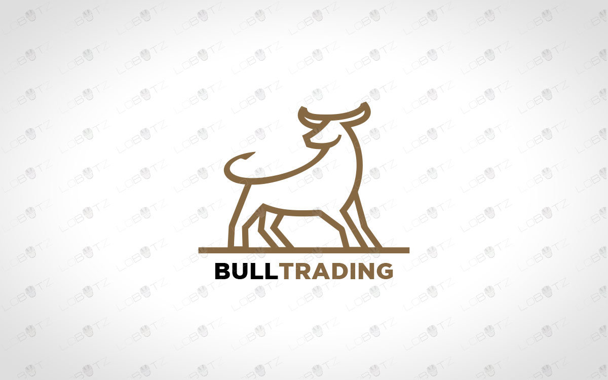premade bull logo for sale company logo business logo