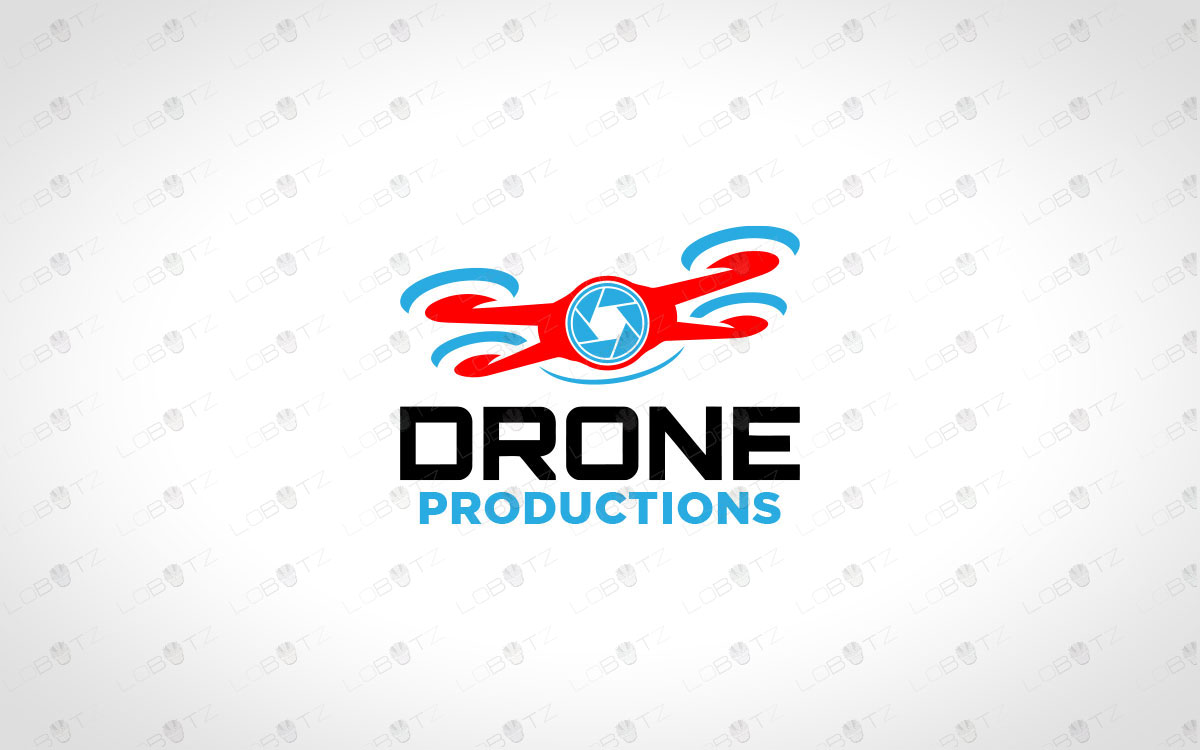 drone logo for sale premade drone logo