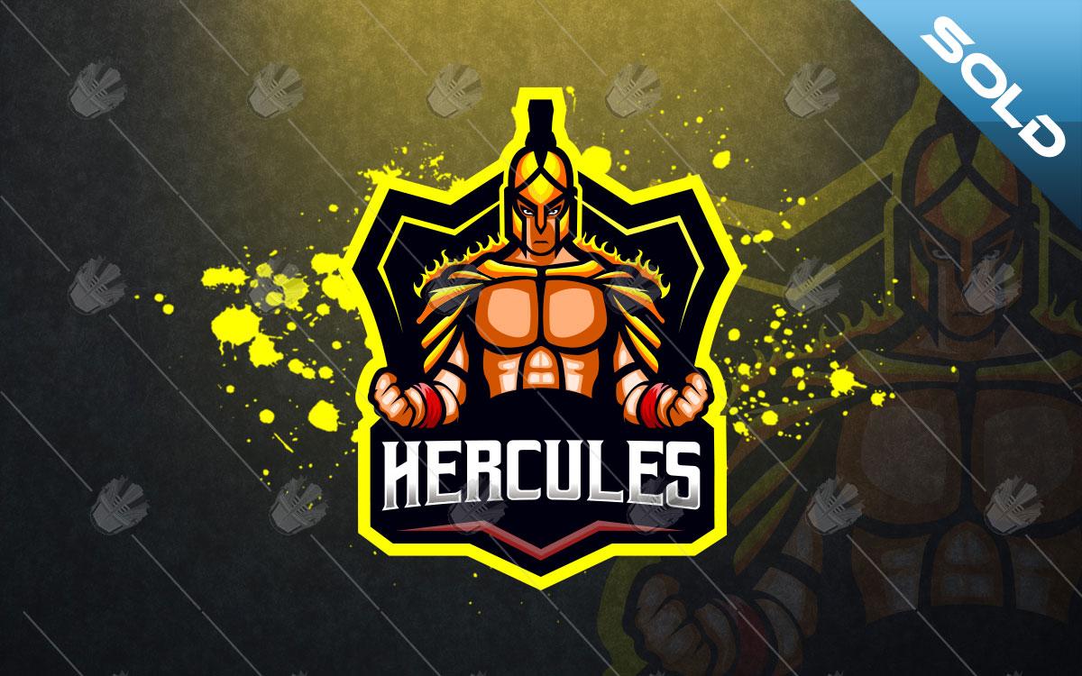 herculesmascot logo herculesesports logo