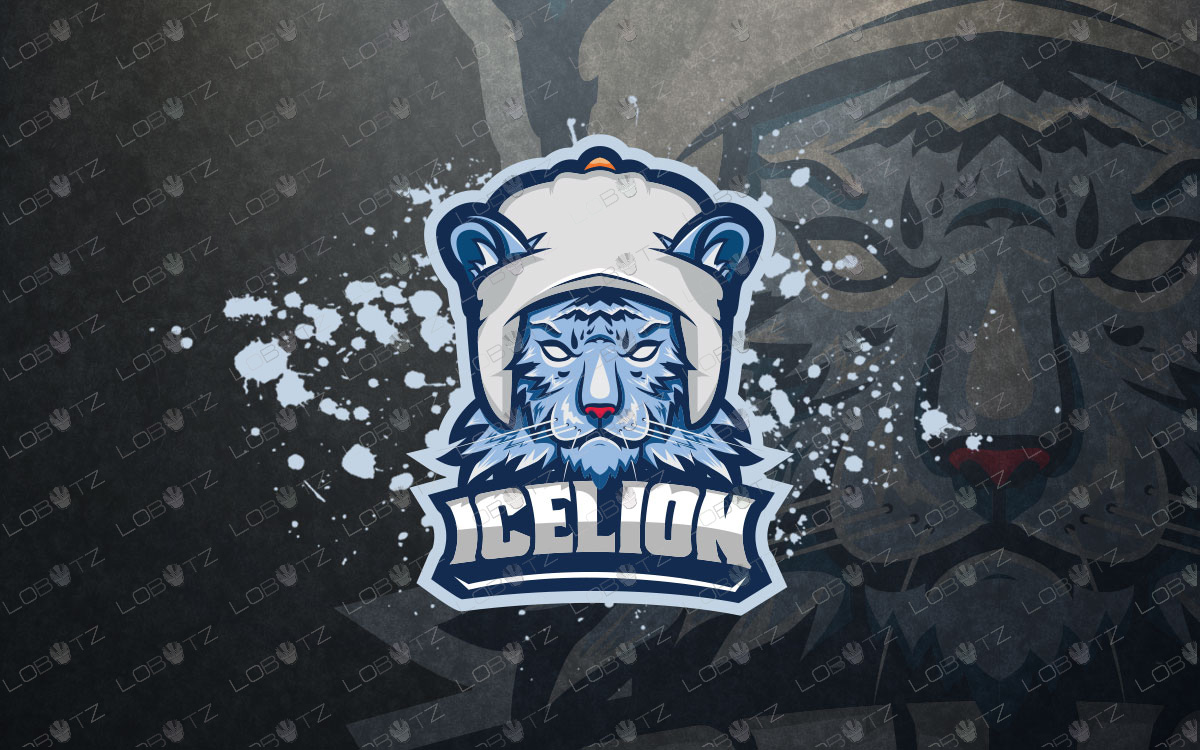 Ice Tiger Mascot Logo Tiger eSports Logo For Sale