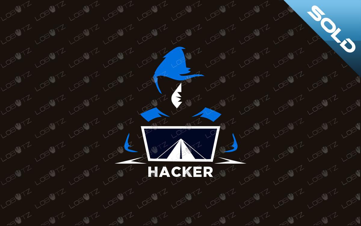 Hacker Logo For Sale Premade Hacker Logo