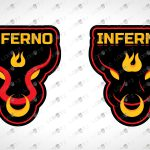 Inferno Logo For Sale | Inferno Mascot Logo For Sale