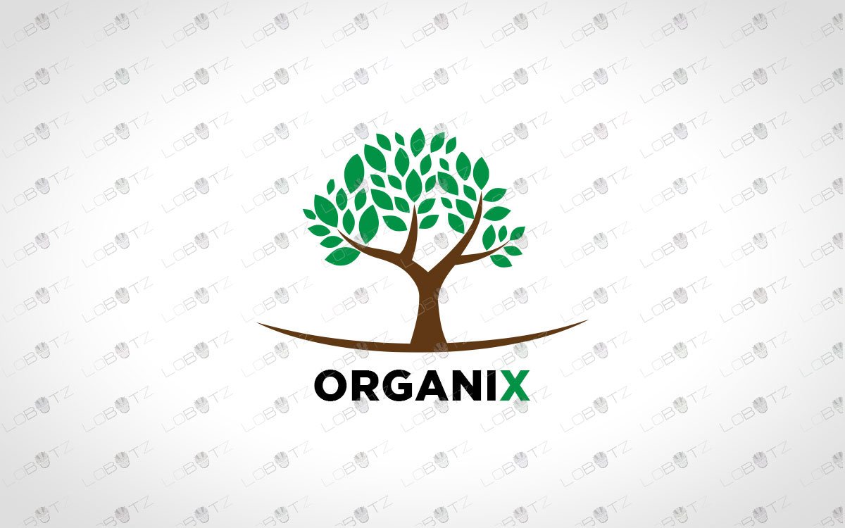 Beautiful & Modern Premade Tree Logo For Sale